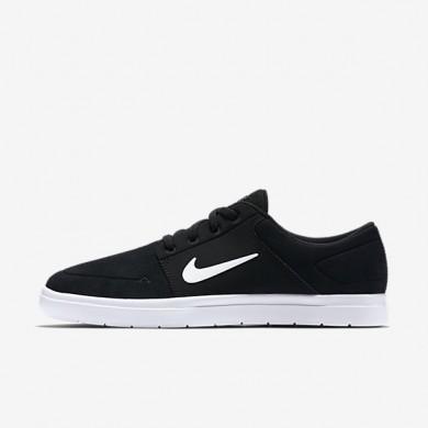 Nike sb portmore vapor para hombre negro/blanco_823