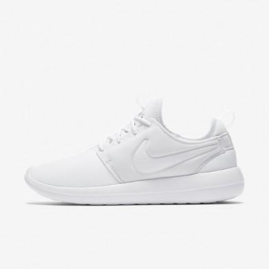 Nike roshe two para mujer blanco/platino puro/blanco_049